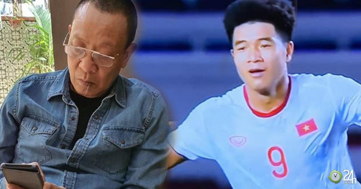MC Lại Văn Sâm nói điều bất ngờ về Hà Đức Chinh sau pha đánh đầu tung lưới Singapore - Giải trí