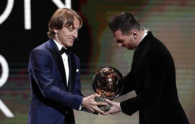 Lễ trao giải Quả Bóng Vàng 2019: Messi đoạt giải lần thứ 6 ...