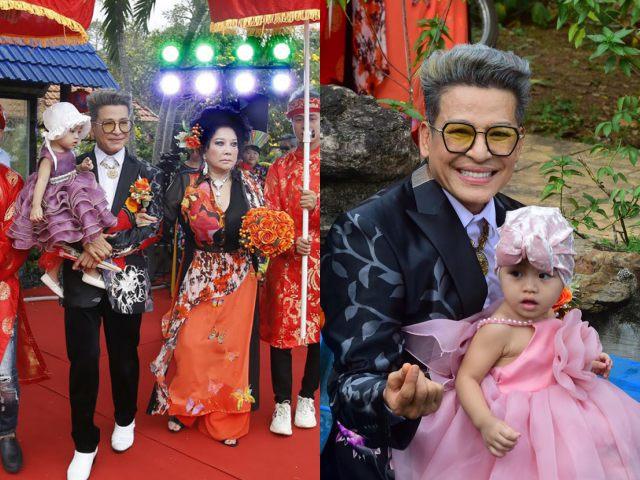 """Bị vợ cũ chỉ trích, MC Thanh Bạch vẫn chơi trội làm đám cưới lần 10 với """"bà trùm"""" Thúy Nga - 1"""