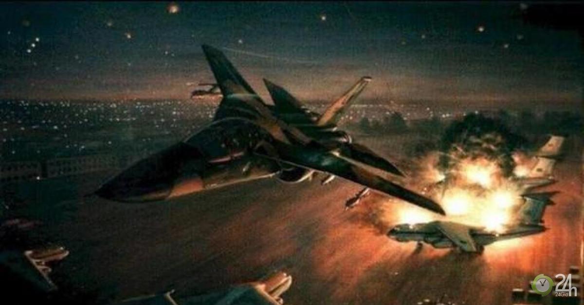 Mỹ chỉ mất 11 phút để hủy diệt hoàn toàn 5 căn cứ quân sự lớn của Libya-Thế giới