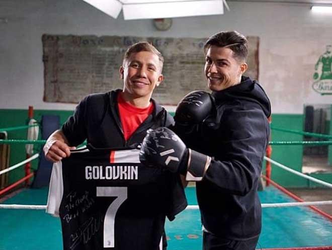 Tin thể thao HOT 6/12: Ronaldo xỏ găng tập boxing với Golovkin - 10