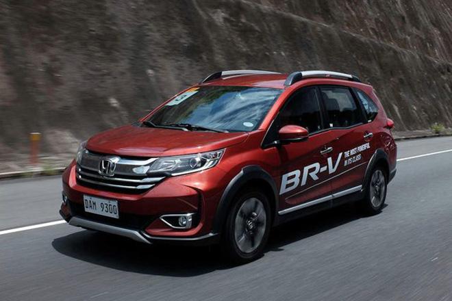 Honda BR-V thế hệ mới ra mắt tại Philippines, giá từ 445 triệu đồng