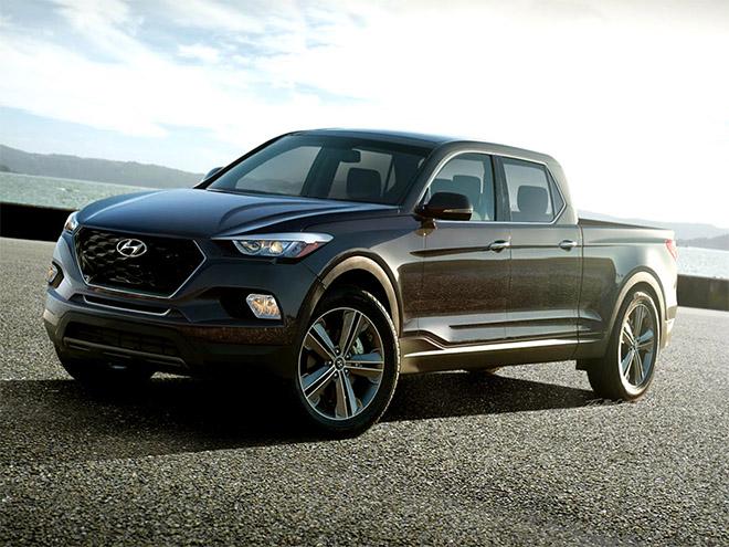 Lộ ảnh xe bán tải của Hyundai chính thức chạy thử trên đường phố - 2