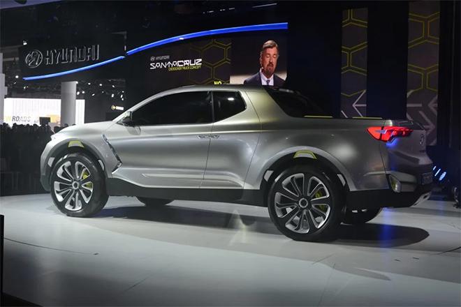Lộ ảnh xe bán tải của Hyundai chính thức chạy thử trên đường phố - 14