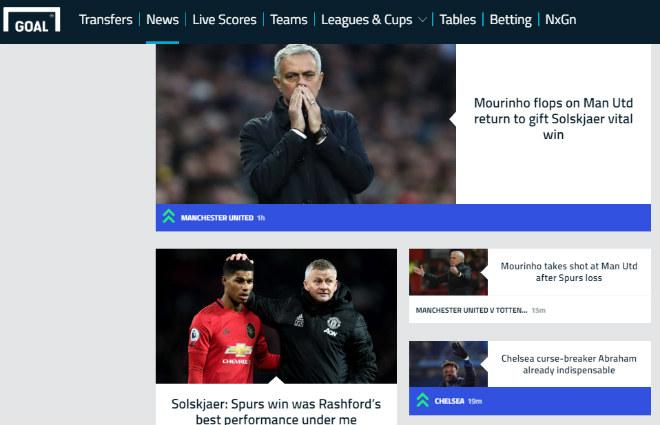 """MU """"lột xác"""" hạ gục Tottenham: Báo Anh kinh ngạc, chê Mourinho mờ nhạt - 4"""