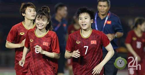 ĐT nữ Việt Nam ngây ngất đá chung kết SEA Games: 3,5 tỷ đồng mừng công, chờ hạ Thái Lan-Bóng đá 24h