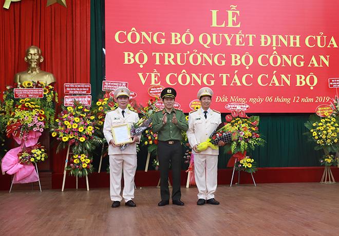 Tân Giám đốc Công an tỉnh Đắk Lắk và Đắk Nông là ai ?