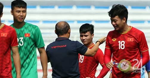 U22 Việt Nam đấu Campuchia bán kết SEA Games: Thầy Park chăm học trò như thế nào?-Bóng đá 24h