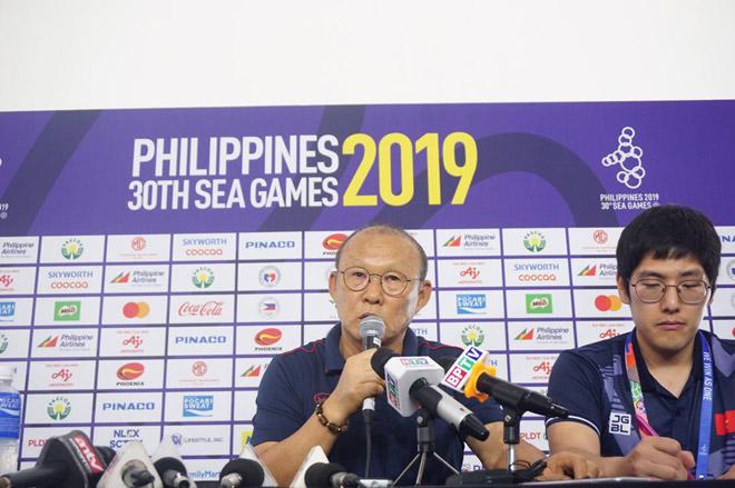 Họp báo trước trận U22 Việt Nam - U22 Campuchia: Thầy Park lo thể lực, báo tin vui - 1