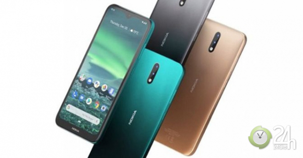 Nokia 2.3 chính thức ra mắt với Android One, pin trâu bò-Thời trang Hi-tech