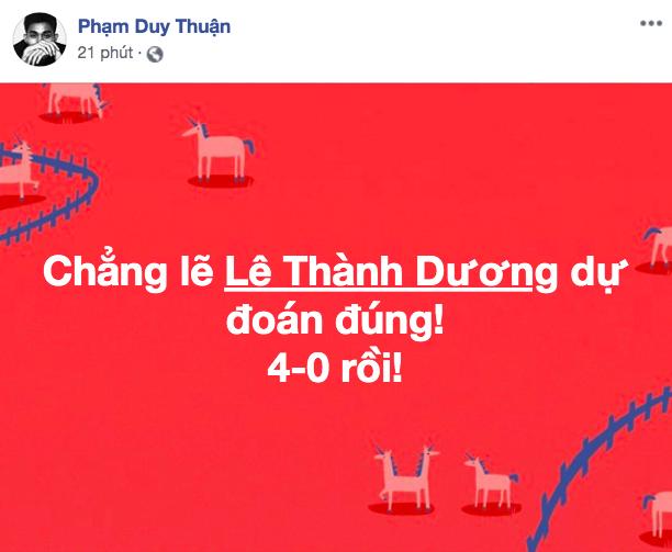 """U22 VN thắng đậm, sao Việt """"phát cuồng"""" gọi tên """"Đức Chinh đáng giá ngàn vàng"""" - 8"""