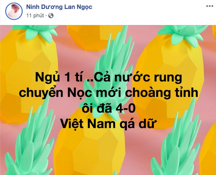 """U22 VN thắng đậm, sao Việt """"phát cuồng"""" gọi tên """"Đức Chinh đáng giá ngàn vàng"""" - 11"""