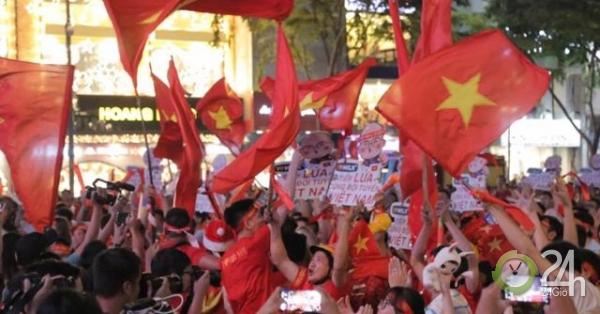"""U22 Việt Nam - U22 Campuchia: Triệu fan vỡ oà thưởng thức """"bữa tiệc bàn thắng"""" - Tin tức 24h"""