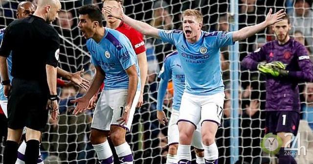 """MU thắng lớn Man City: Báo Anh thương """"Nhà Vua"""" sớm mất ngai vàng-Bóng đá 24h"""