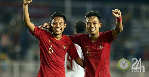 """Lộ """"bí kíp"""" U22 Indonesia hồi phục thần tốc, đấu U22 Việt Nam chung kết-Bóng đá 24h"""