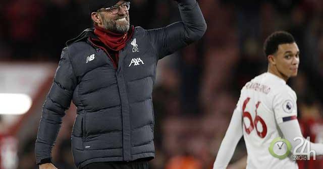 """Liverpool """"vô đối"""" Ngoại hạng Anh: Thống kê sốc chưa chắc vô địch cuối mùa-Bóng đá 24h"""