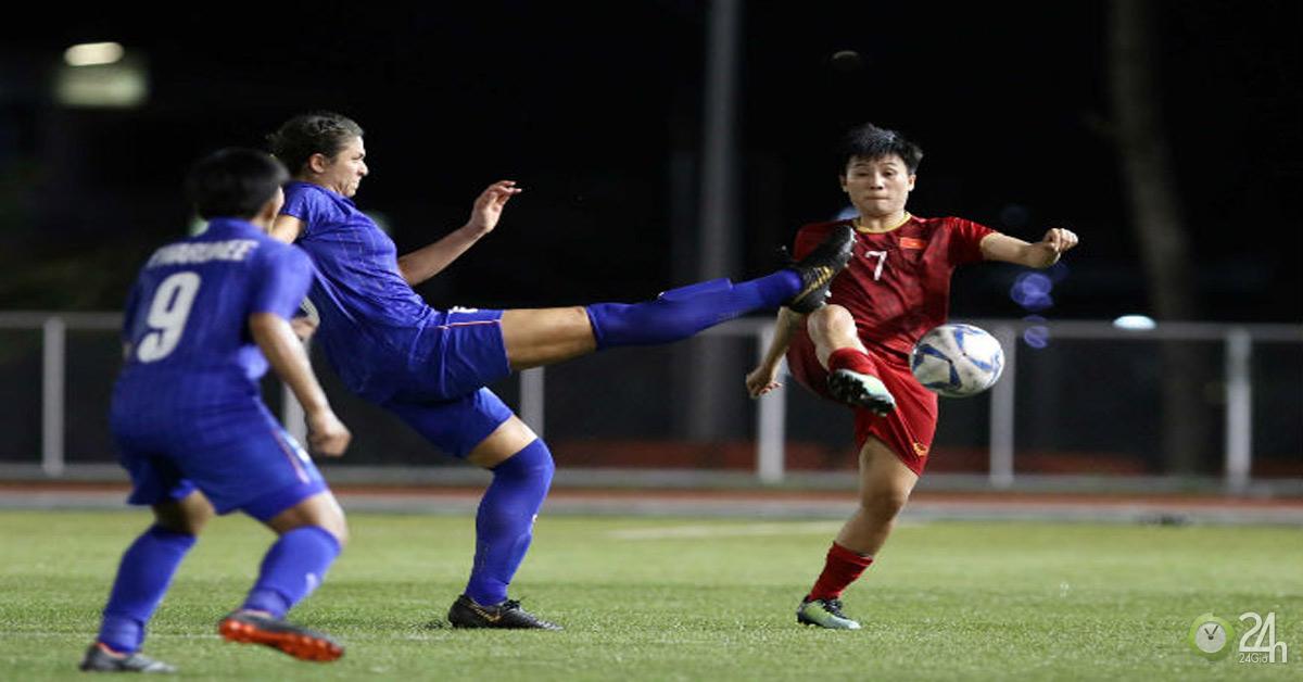 Trực tiếp bóng đá chung kết SEA Games ĐT nữ Việt Nam - Thái Lan: Quyết đoạt HCV-Bóng đá 24h