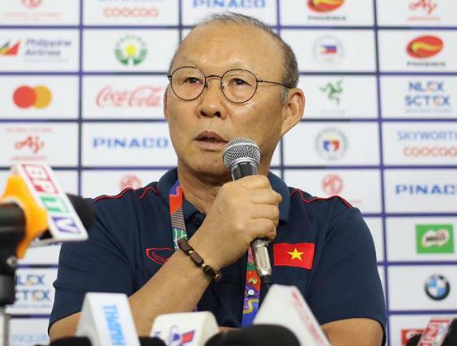 """Họp báo U22 Việt Nam chung kết SEA Games: Thầy Park """"bắt bài"""" đối thủ, quyết giành HCV - 1"""