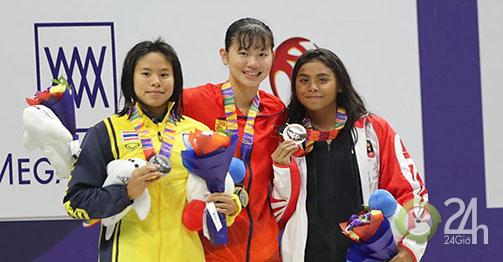 Bảng xếp hạng VĐV Việt Nam đoạt HCV: Ai bám sát Ánh Viên ở SEA Games?