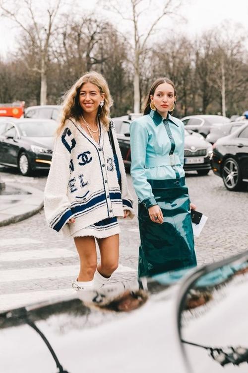 Đã bao mùa đông qua, bạn đã biết cách mặc len chồng len sang tuyệt đối? - 4