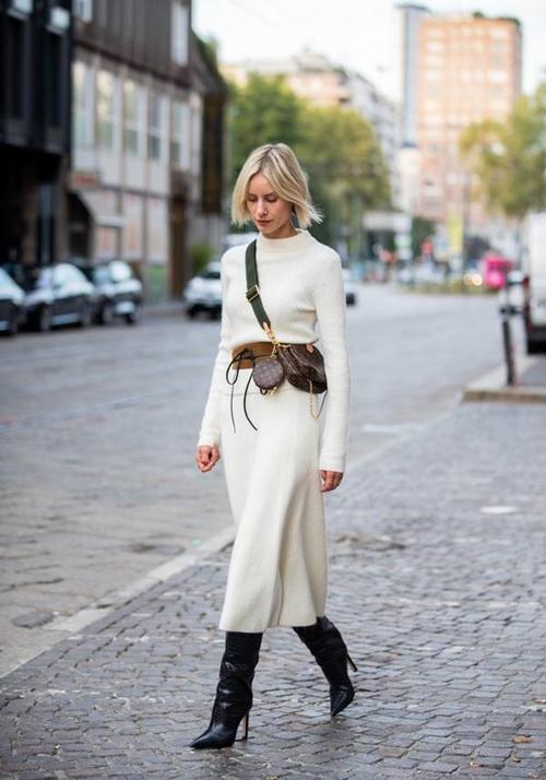 Đã bao mùa đông qua, bạn đã biết cách mặc len chồng len sang tuyệt đối? - 6