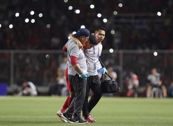 Họp báo sau trận U22 Indonesia – U22 Việt Nam: HLV Sjafri hé lộ lý do thua, nói gì về thẻ đỏ của thầy Park?