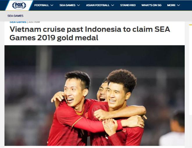 U22 Việt Nam đoạt HCV SEA Games: Báo châu Á vỡ òa, ngả mũ kì tích 60 năm