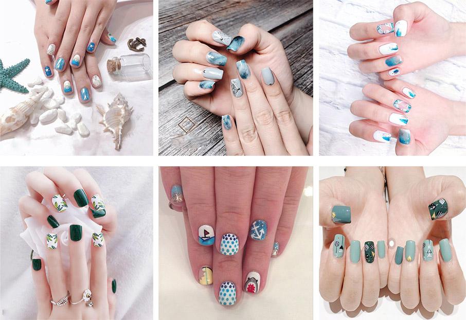 Những mẫu nail xinh đơn giản nhẹ nhàng hot nhất hiện nay - 1