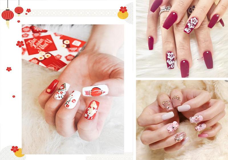 Những mẫu nail xinh đơn giản nhẹ nhàng hot nhất hiện nay - 2