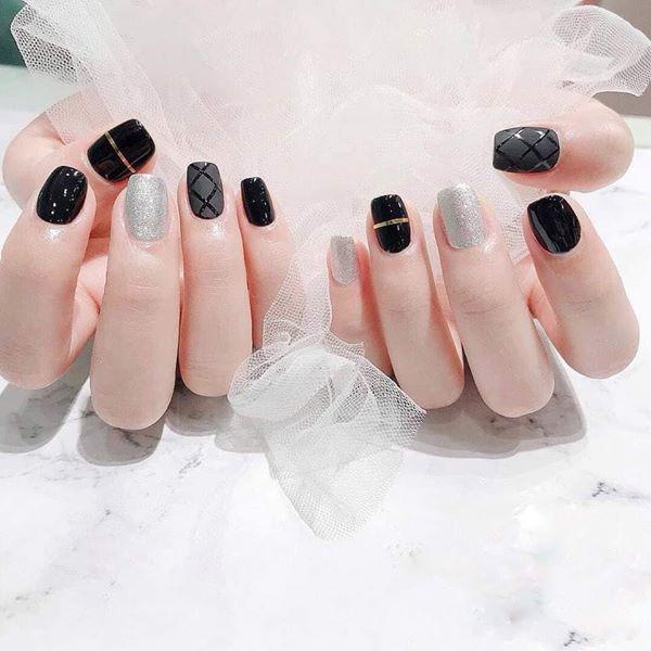 Những mẫu nail xinh đơn giản nhẹ nhàng hot nhất hiện nay - 5