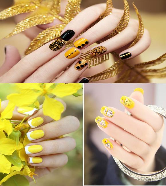 Những mẫu nail xinh đơn giản nhẹ nhàng hot nhất hiện nay - 7