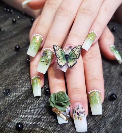 Những mẫu nail xinh đơn giản nhẹ nhàng hot nhất hiện nay - 8