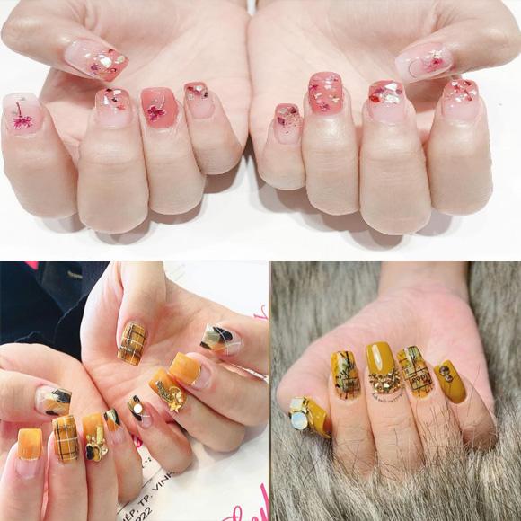 Những mẫu nail xinh đơn giản nhẹ nhàng hot nhất hiện nay - 9