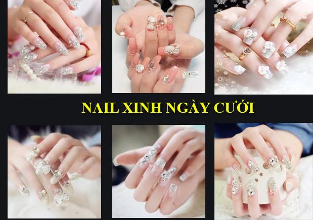 Những mẫu nail xinh đơn giản nhẹ nhàng hot nhất hiện nay - 10