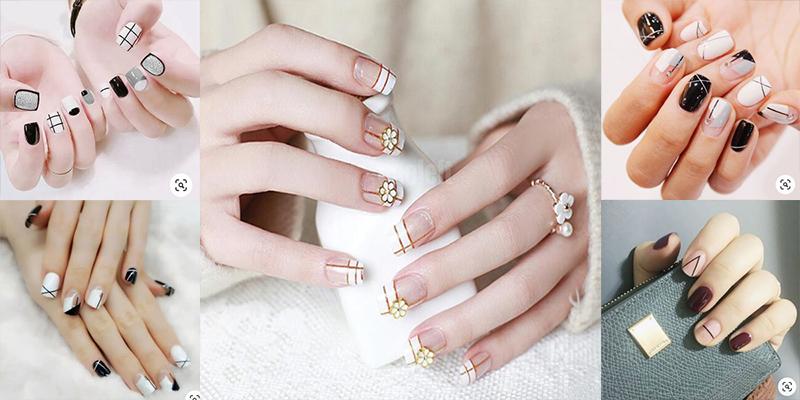 Những mẫu nail xinh đơn giản nhẹ nhàng hot nhất hiện nay - 15