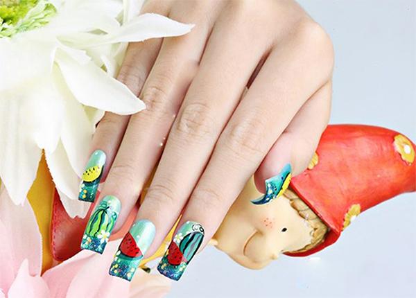 Những mẫu nail xinh đơn giản nhẹ nhàng hot nhất hiện nay - 12