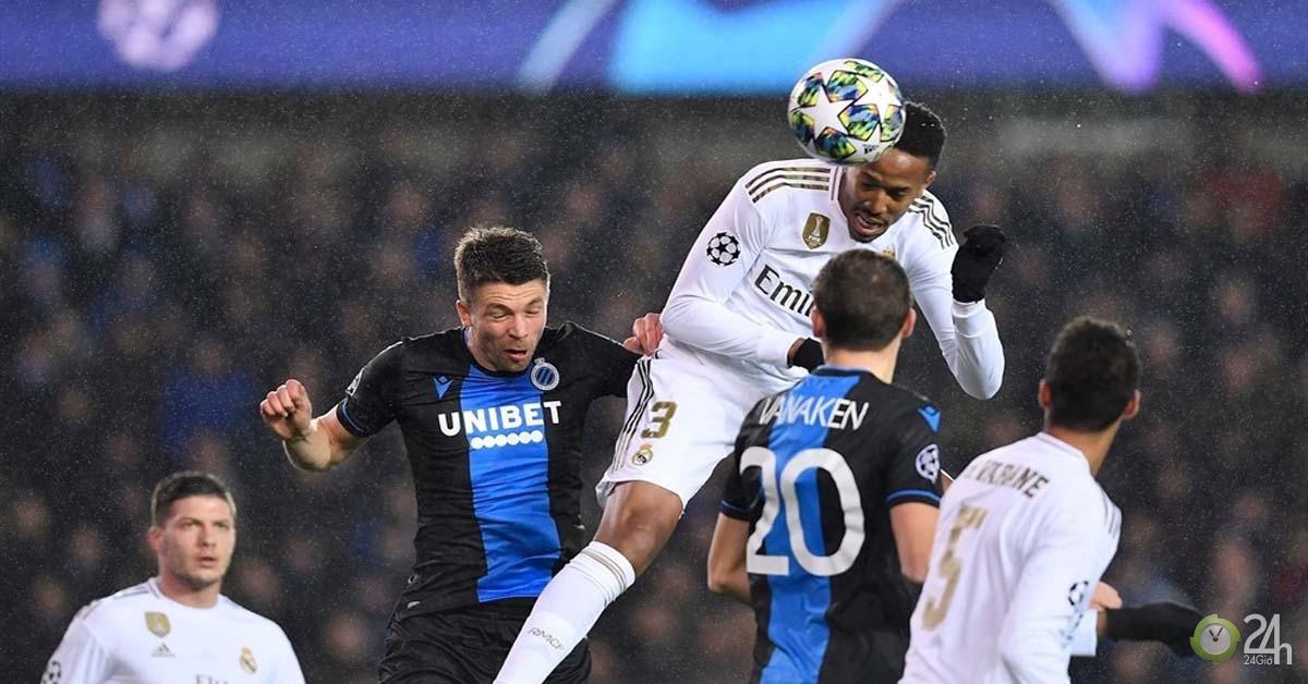 Kết quả bóng đá Cúp C1 Club Brugge - Real Madrid: Song tấu Brazil lập công, 3 điểm nhẹ nhàng