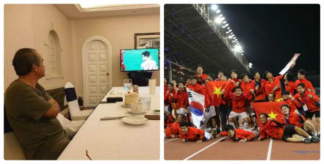 U22 Việt Nam hoàn tất giấc mơ vàng SEA Games: Bầu Đức & niềm vui chưa trọn vẹn
