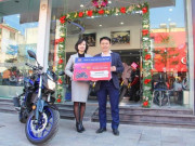 Sơn TOA trao thưởng xe mô tô cho khách hàng trong chương trình  Mua Sơn TOA, trúng quà to