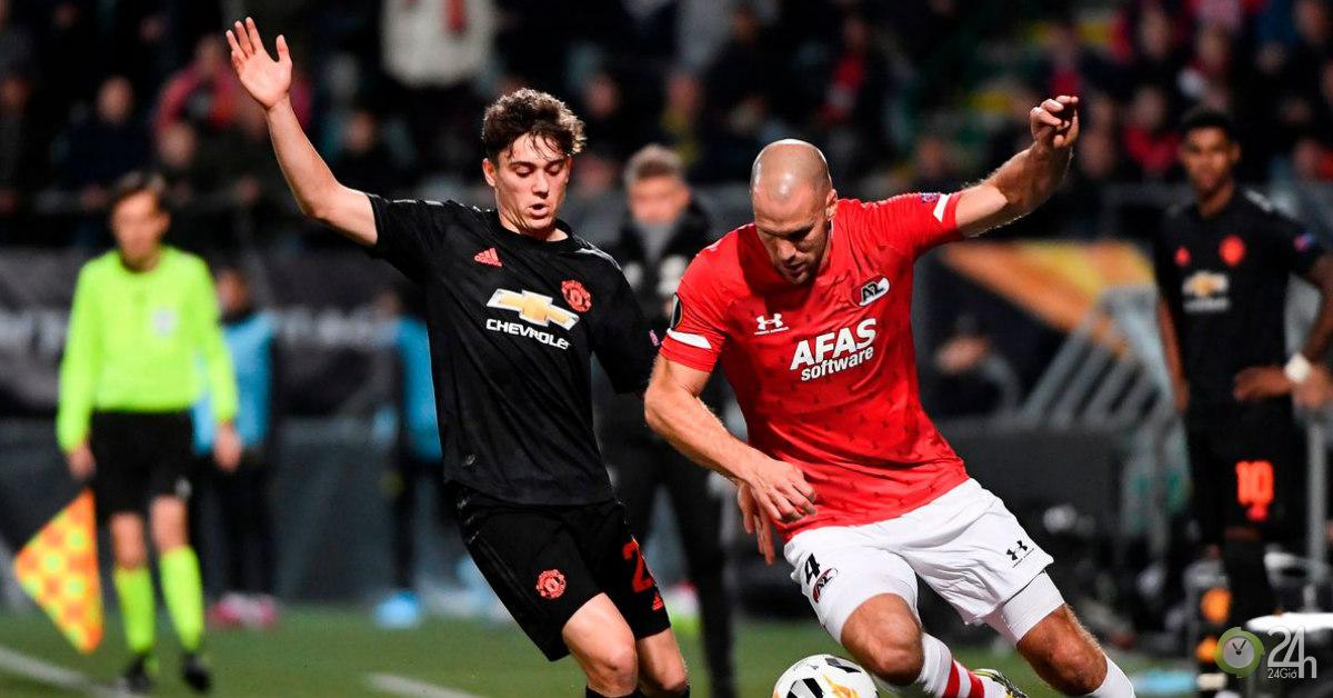 Trực tiếp bóng đá MU - AZ Alkmaar: Thế trận nhàn nhã (Hết giờ)
