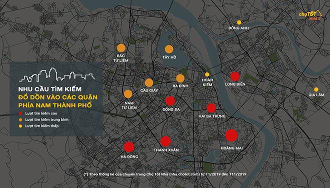 Giá nhà đất Hà Nội năm 2019: Sóng yên biển lặng - 3