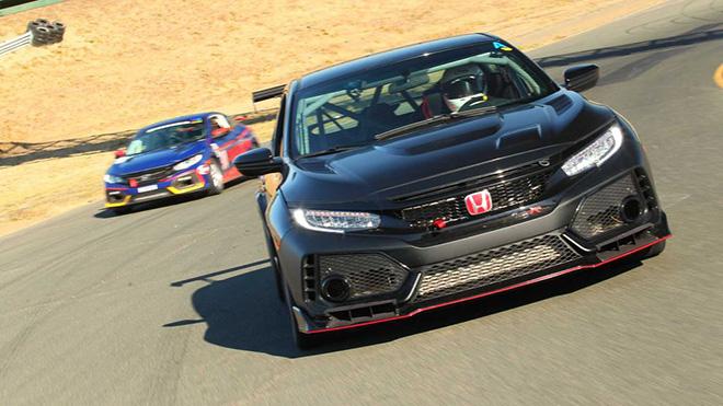 Honda Civic Type R TC - phiên bản xe đua nâng cấp chốt giá 2,08 tỷ đồng