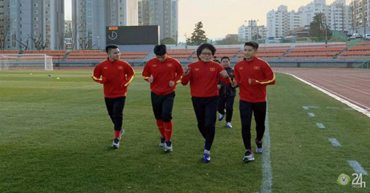 U23 Việt Nam luyện quân ở Hàn Quốc: Hưng phấn mơ bay xa giải châu Á