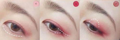 """Hướng dẫn trang điểm mắt hồng ngọt ngào giúp nàng """"hớp hồn"""" chàng - 2"""