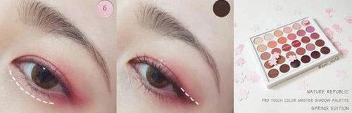 """Hướng dẫn trang điểm mắt hồng ngọt ngào giúp nàng """"hớp hồn"""" chàng - 3"""