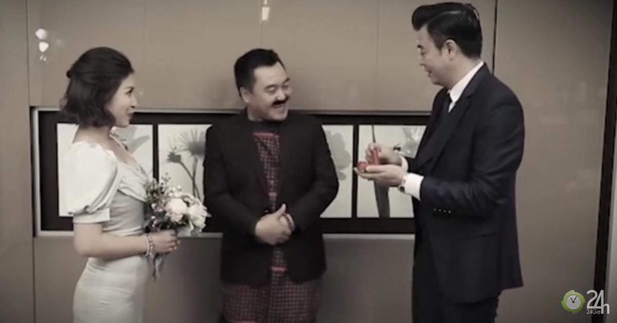 """Ngã ngửa với clip đám cưới của MC Tuấn Tú và Hoàng Linh - """"Chúng tôi là chiến sĩ"""" - Giải trí - kết quả xổ số thừa thiên huế"""