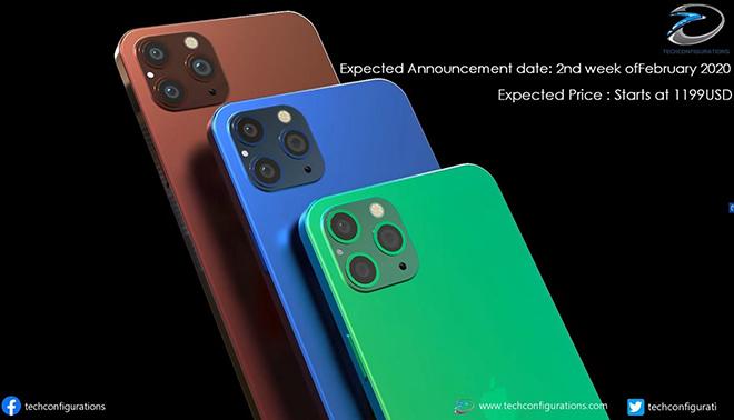 iPhone 12 Pro Max sẽ siêu đẹp khi tạm biệt notch, màn hình lớn hơn - 2