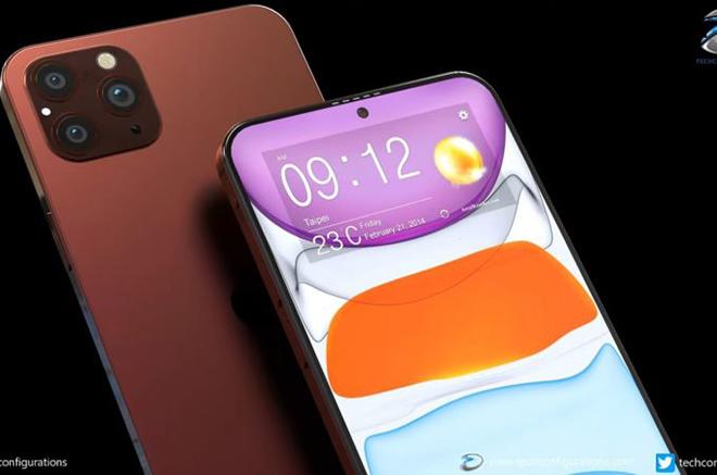iPhone 12 Pro Max sẽ siêu đẹp khi tạm biệt notch, màn hình lớn hơn - 1
