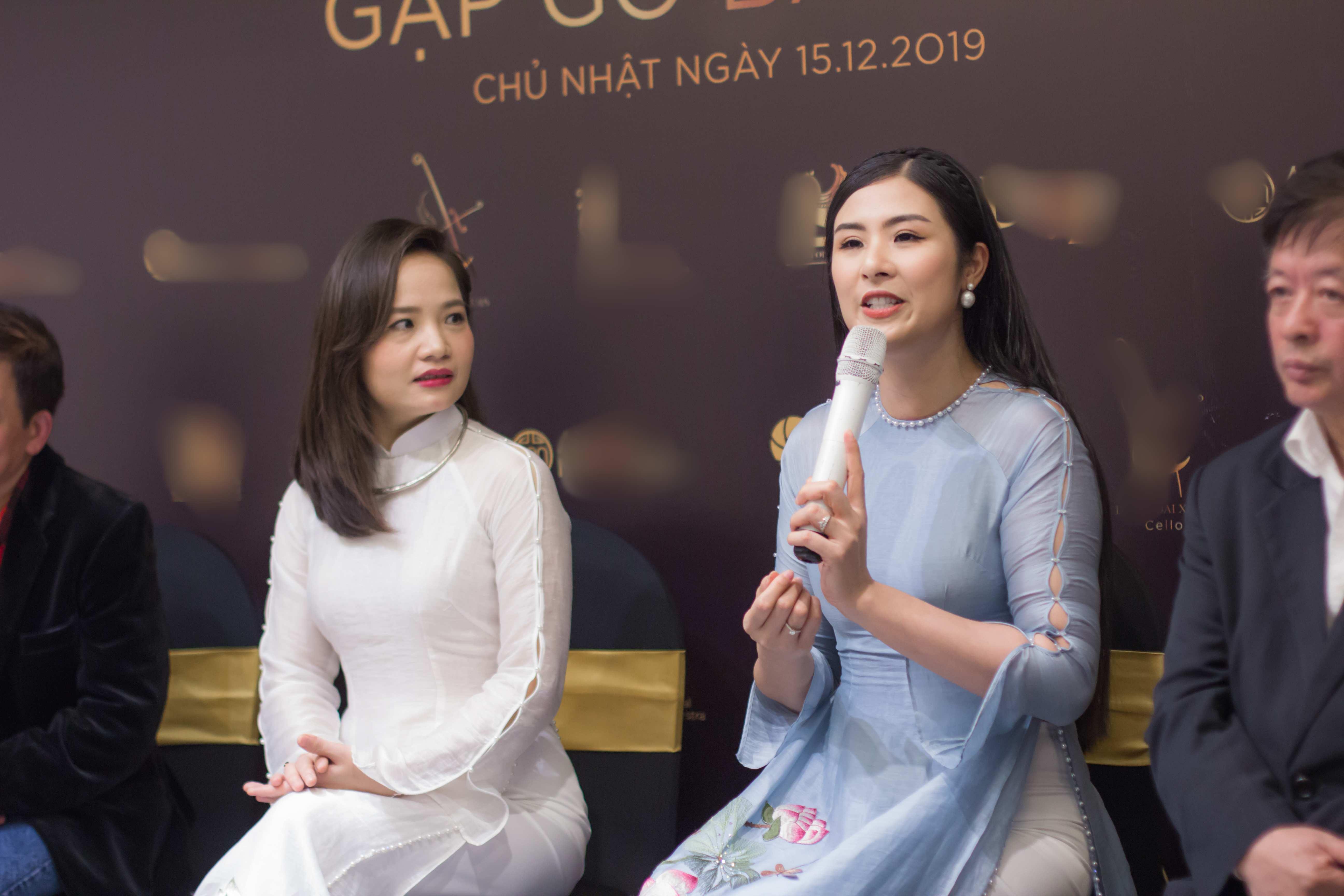 Hoa hậu Ngọc Hân bất ngờ góp mặt trong buổi hoà nhạc quốc tế với vai trò bất ngờ - 1