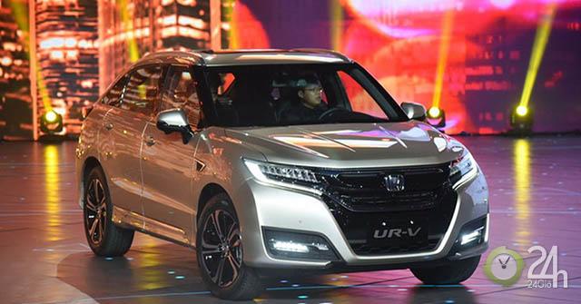 Cận cảnh Honda UR-V, mẫu xe dựa trên nền tảng của HR-V nhưng kích thước lớn hơn